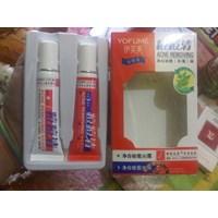 Distributor Cream Penghilang Jerawat Wajah Muka Alami Ampuh Obat Penyembuh Jerawat Dan Mengobati Semua Jenis Jerawat Secara Alami Asli Cream Perawatan Wajah Yofume Anti Acne 3