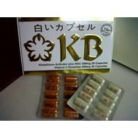 Distributor Pil Pemutih Wajah Alami Permanen Obat Pil Pemutih Badan Herbal Ampuh Asli Cara Memutihkan Kulit Wajah Seluruh Tubuh Secara Alami Suplemen dan Vitamin Kyusoku Bihaku ( KB ) 3