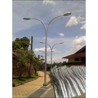 Distributor Tiang Lampu Pju Oktagonal Double Tipe Parabola 3