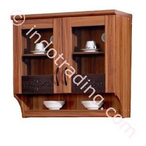 Lemari Dapur 2 Pintu Kaca Atas Kkd014181