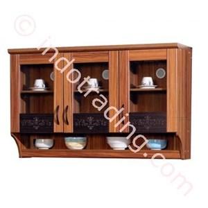 Lemari Dapur Atas 3 Pintu Kaca  Kkt014181