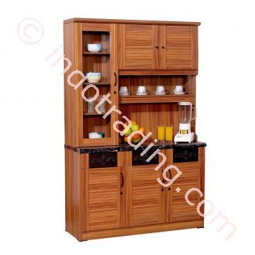 Jual lemari dapur atau lemari makan olympic ksc 014181 for Jual kitchen set surabaya