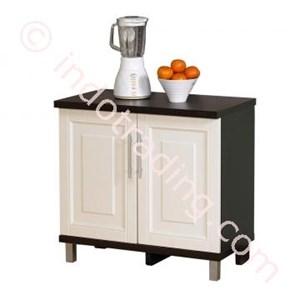 Lemari Dapur 2 Pintu Bawah (Series Mutiara) Kad 010880