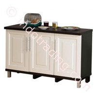 Lemari Dapur 3 Pintu Bawah (Series Mutiara) Kbt010880 1