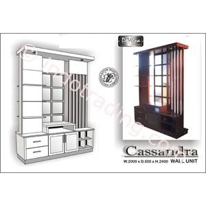 Lemari Hias Penyekat Tipe Cassandra 2000