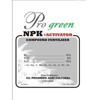 Pupuk Npk + Activator Pro Green 1