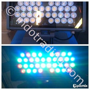 Led Sorot Model:Kotak Persegi Panjang (36 Watt)Rgb