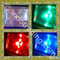 Led Sorot Kotak (50 Watt)Rgb 1
