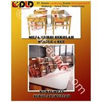 Meja Dan Kursi Sekolah 1