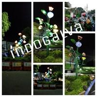 Lampu Hias Bunga Mawar
