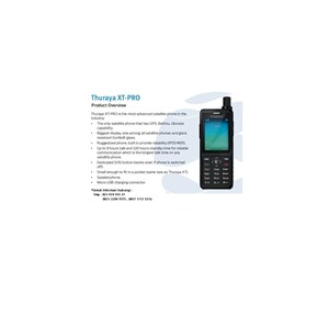 Handset Thuraya XT-Pro Telepon Satelit Untuk Komunikasi Dan Modem