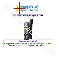 Distributor Telepon Satelit R190 Include Perdana Dan Pulsa 3