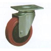 Roda Trolley PU Caster RHJ 325-075-10 1