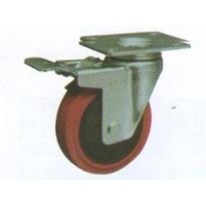 Roda Trolley PU Caster RHJ 325-075-13