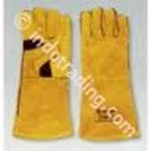 Sarung Tangan Las Kuning