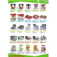Mesin Popcorn - Fryer - Griddle - Hot Dog Maker - Sugar Cane - Ice Cream - Slush - Dispenser 1