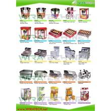 Mesin Popcorn - Fryer - Griddle - Hot Dog Maker - Sugar Cane - Ice Cream - Slush - Dispenser