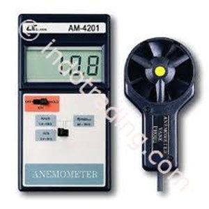 Anemometer + Lutron Am-4201