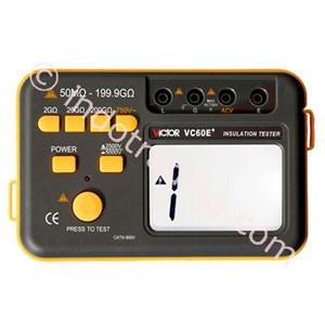 Insulation Tester Victor Vc 60E+