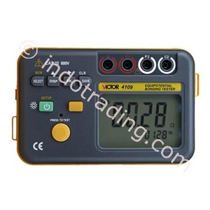 Grounded Resistance Tester Victor 4109