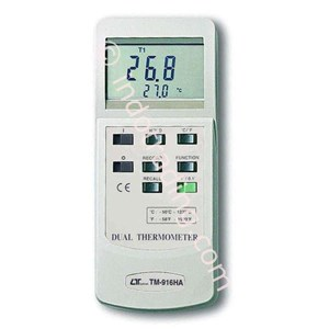 Lutron Tm-916Ha Dual Thermometer