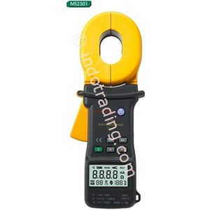 Mastech Ms2301 Earth Resistance Clamp Meter