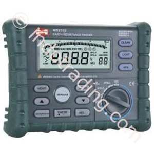 Mastech Ms2302 Digital Earth Resistance Meter