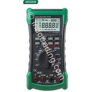 Mastech Ms5208 Advanced Multimeter With Insulation Tester
