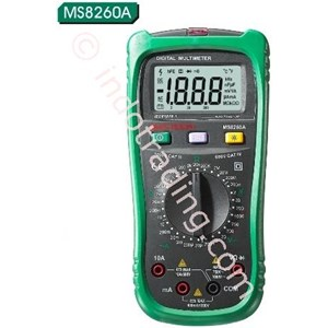 Mastech Ms8260a Digital Multimeter With Ncv