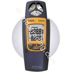 VA8020 Vane Anemometer +Temperature