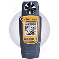 VA8022  Humidity Air Volume & Vane Anemometer 1