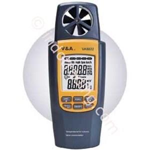 VA8022  Humidity Air Volume & Vane Anemometer