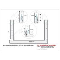 Jual Bahan Waterproofing Pvc Waterstop  SCG 70 2