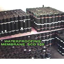 WATERPROOFING MEMBRANE SCG 300