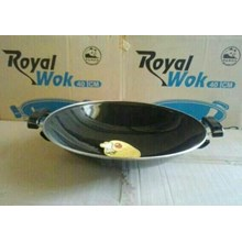 Wajan Royal Wok Enamel Marble Maspion