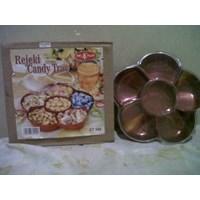 Toples Kue Kering Permen Coklat Candy Tray Rejeki