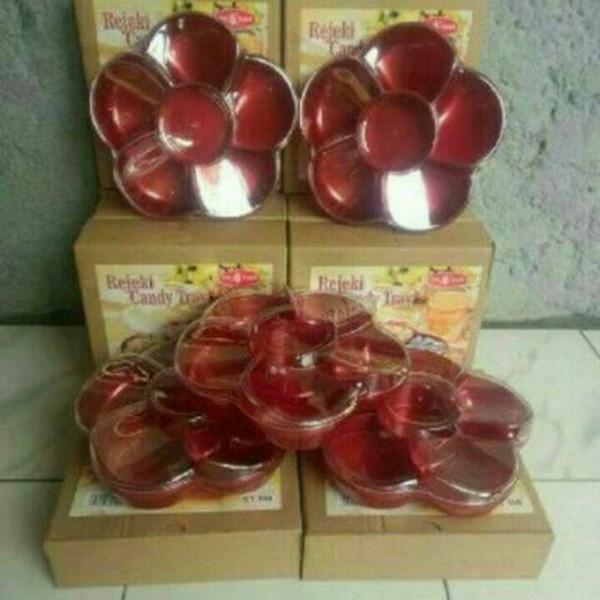 Toples Kue Kering Permen Coklat Manisan Candy Tray Bunga Rejeki Berkah Idul Fitri Lebaran