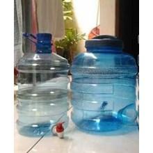 Guci Galon Kran Plastik Transparan