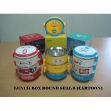 Rantang Lunch Box Karakter Stainless Steel
