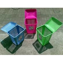 Laundry Basket Keranjang Pakaian Plastik