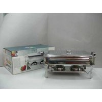 Jual Super Pan With Stove Deep Soup Bowl Chafing Dish Panci Prasmanan Stainless Steel