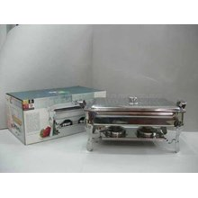 Super Pan With Stove Deep Soup Bowl Chafing Dish Panci Prasmanan Stainless Steel