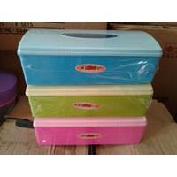 Dari Kotak Tempat Tissue Tisu Plastik Promosi Hadiah Iklan Kedai Warung Kopi Restoran Depot 6