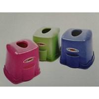Dari Kotak Tempat Tissue Tisu Plastik Promosi Hadiah Iklan Kedai Warung Kopi Restoran Depot 5