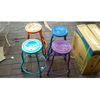 Distributor High Chair Iron Round 3