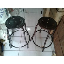 High Chair Iron Round