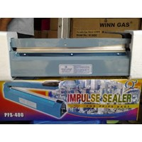 Mesin Press Perekat Plastik Impulse Plastic Sealer 1