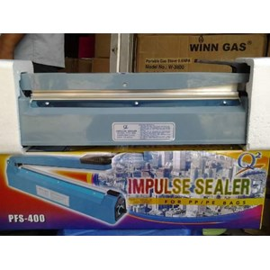 Mesin Press Perekat Plastik Impulse Plastic Sealer