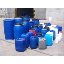 Jerigen Plastik Kimia Biru Putih Industri