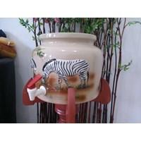 Guci Galon Dispenser Minum Keramik Trisensa
